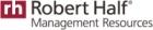 Robert Half Management Resources -  annonces